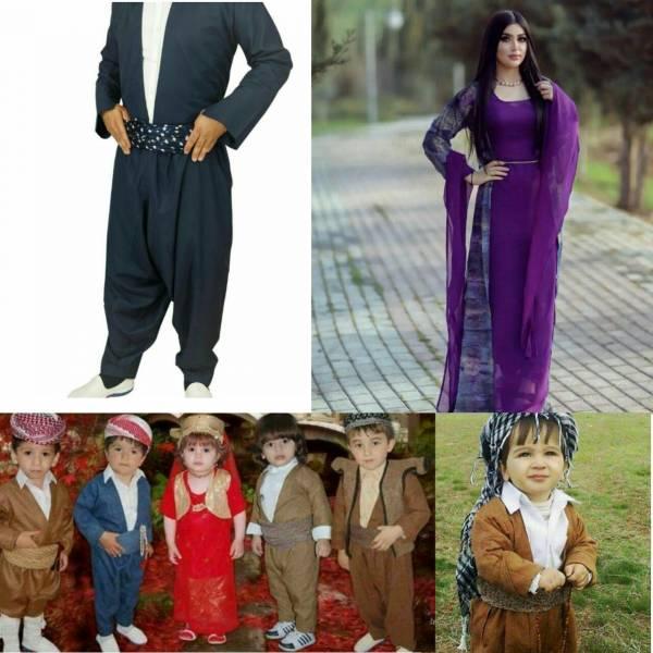 سفارش انواع لباس مردانه /زنانه/بچه گانه لباس کردی