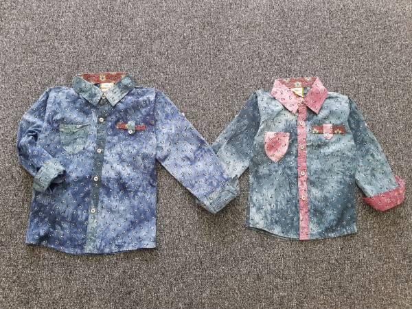 پیراهن ترک جنس خیلی خوب وشیک دردورنگ دخترانه وپسرانهو۴ سایز ۳ الی ۵تا۶ سال برای بچه های خوشکلتون