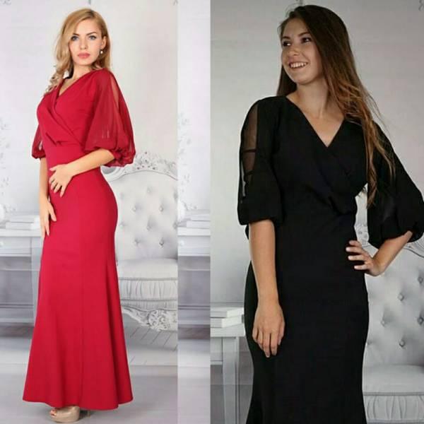 لباس مجلس زنانه ترک وخیلی زیبا  رنگبندی مشکی،زرشکی،قرمزوسایزبندیS-M--L-XL تنخور جذاب