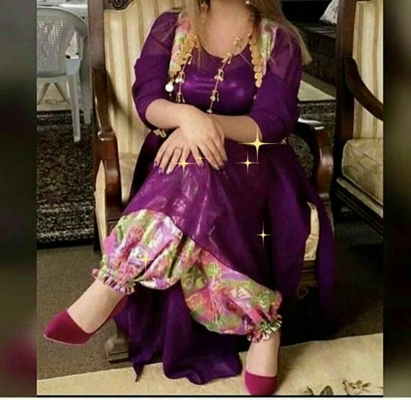 لباس کوردی زنانه بازرگانی چرو