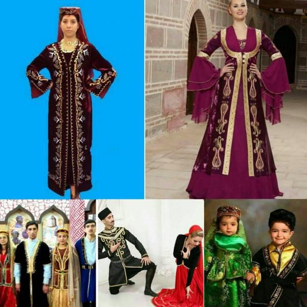 سفارش انواع لباس مردانه /زنانه/بچه گانه لباس آذری