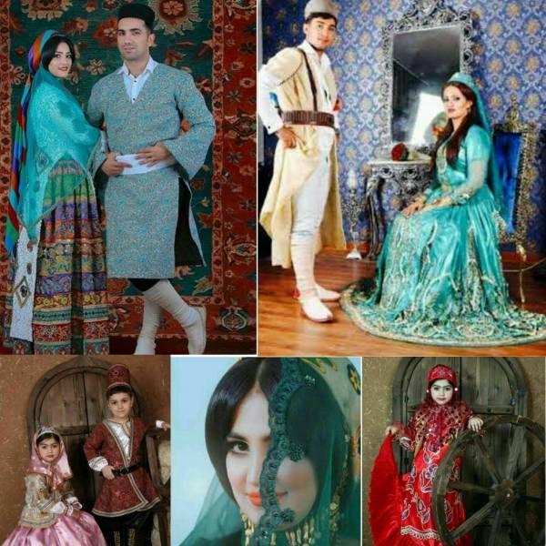 سفارش انواع لباس مردانه /زنانه/بچه گانه لباس لری